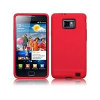 View Item Radiant Red Flexible Silicone Case For Samsung Galaxy S II &amp; Galaxy S III